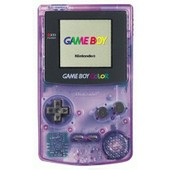 Game Boy Pocket Color Violet Transparent