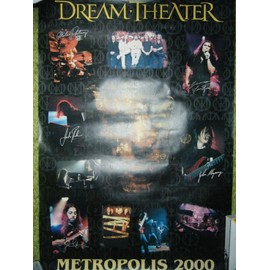 DREAM THEATER AFFICHE METROPOLIS 2000