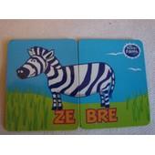 Magnet Les Animaux Le Zebre Lot De 2 Magnets, Petits Filous