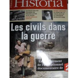 Historia N� 753 : 09/2009: Civils Dans La Guerre/ Auxerre/ Tous Fiches/ Nabateens/ Mucha/ Dunant/ Larousse/ Americains Contre Pirates/ Gaulois