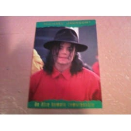 Michael Jackson Trading Cards Panini 1996 France N°67