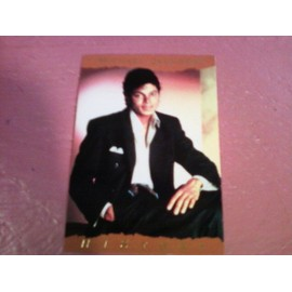 Michael Jackson Trading Cards Panini 1996 France N°24