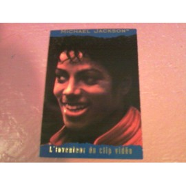 Michael Jackson Trading Cards Panini 1996 France N°123