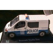 Renault Trafic 2 Van Police Municipale Lille Oliex 1/43