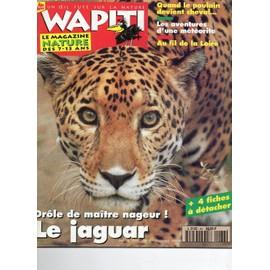 Wapiti Un Oeil Fut� Sur La Nature N� 86 : Poulain Et Cheval, Au Fil De La Loire, Aventure D'une Meteorite, Le Jaguar