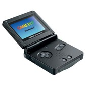 Gameboy Advance Sp Noire