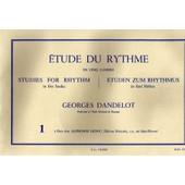 Etude Du Rythme, Cahier N�1 : Mesures Simples, Georges Dandelot