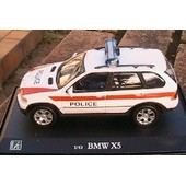 Bmw X5 4x4 Police Suisse Oliex 1/43 Switzerland Polizei