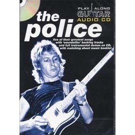 The Police : play along guitar audio cd (livret + CD) - guitare - Wise