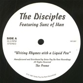 Writing Rhymes With A Liquid Pen - Disciples