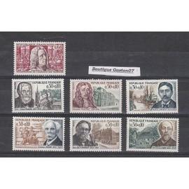 """France 1966: série complète """" célébrités """" + """" Tricentenaire de l"""