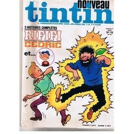 Nouveau Tintin 1976 Nouvelle Serie N 19 N� 159 : Cedric Et Popeye