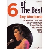 Winehouse Amy : 6 Of The Best - Chant + Piano + Accords - Faber
