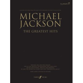 Michael Jackson : the greatest hits - chant + piano + accords - Faber