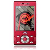 Sony Ericsson W995 Energetic Red