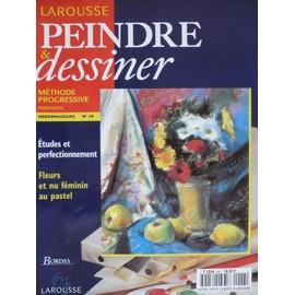 Peindre Et Dessiner N� 48 : Fleurs Et Nus Feminin Au Pastel