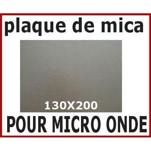 MICA  à découper 100X150 mm EP 0,35 PLAQUE DE MICA pour MICRO ONDE