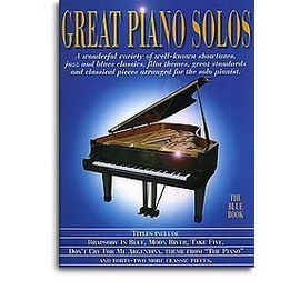Great Piano Solos : The White Book Piano