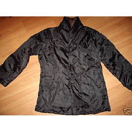 Blouson manteau veste noir marron t 38 40 neuf 7b2b785c729