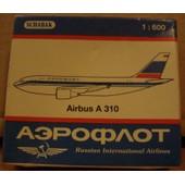 Airbus A 310 Aeroflot - Miniature Au 1/600