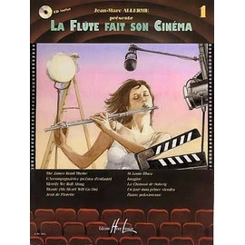 LA FLÛTE FAIT SON CINEMA Vol.1 CD INCLUS