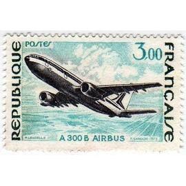 France 1973 - Y&T n°1751 - 3f - Grande réalisations - A 300 B Airbus - Neuf
