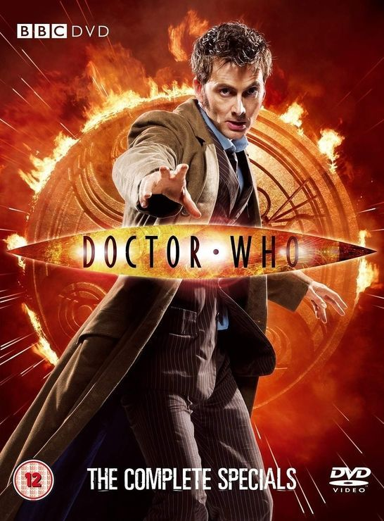 DOCTOR WHO - THE COMPLETE SPECIALS [IMPORT ANGLAIS] (IMPORT)  (COFFRET DE 5 DVD)