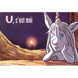 """U (dessin animé)- Carte postale - modèle """"U, c'est moi"""""""