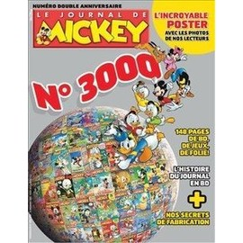 Le Journal De Mickey N� 3000 : N�3000