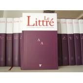 Le Littr� : Le Dictionnaire De R�f�rence De La Langue Fran�aise - 20 Tomes de claude blum