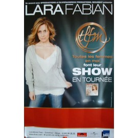 affiche Lara Fabian - 120x80 cm