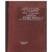 Abr�g� D'histoire Romaine - Classe De Cinqui�me de Humbert A.