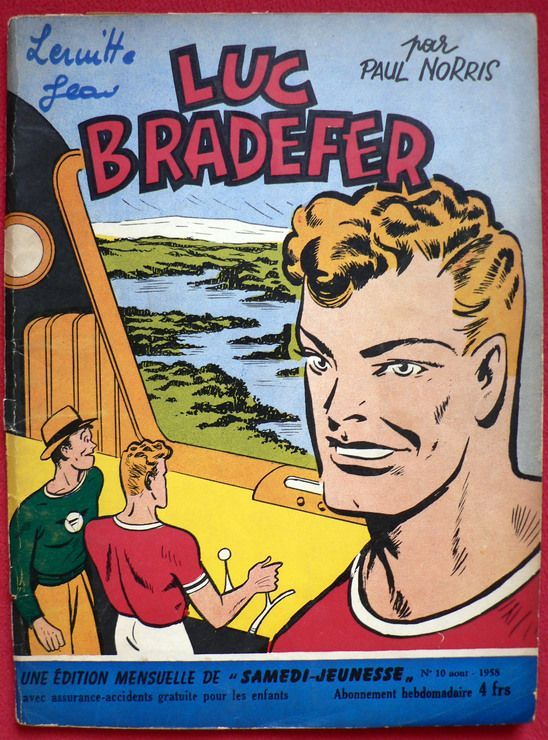 Luc Bradefer - Brick Bradford - Mission Astrale