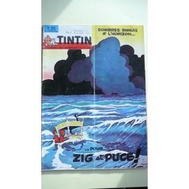 Tintin N� 835 : Sombres Ennuis � L'horizon Pour Zig Et Puce