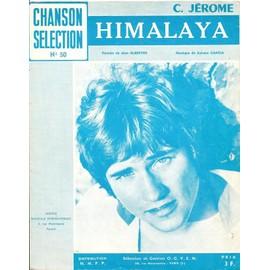 Himalaya (C. Jérôme) - Partition Chant & Piano - 1972