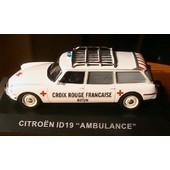 Citroen Id 19 Ambulance Croix Rouge Autun 1/43 Ixo Altaya
