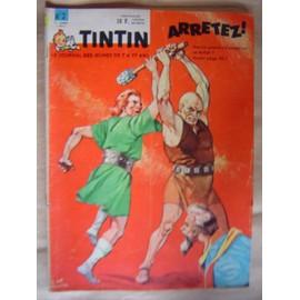 Tintin Le Super Journal Des Jeunes De 7 � 77 Ans N�2 Du 09/01/1962
