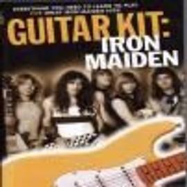Iron maiden guitar kit + cd + dvd