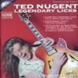 Nugent ted legendary licks tab cd