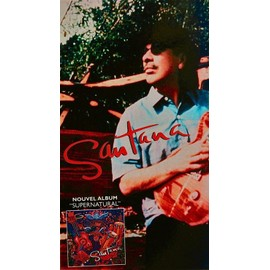 Carlos Santana - nouvel album Supernatural