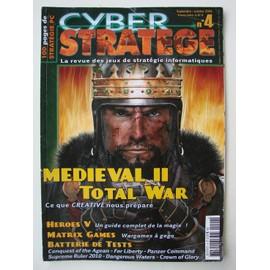 Cyber Stratege N� 4 : La Revue Des Jeux De Stategie Informatiques