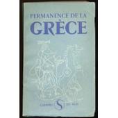 Permanence De La Gr�ce. Avant-Propos De Jean Ballard de [GRECE] COLLECTIF