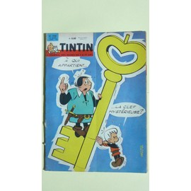 Tintin N� 754 : A Qui Appartient La Clef Mysterieuse ?