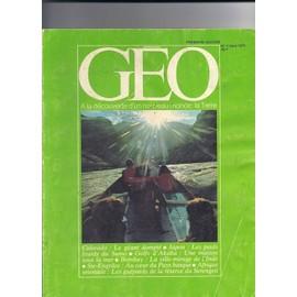 Geo. Colorado: Le G�ant Dompt�. Japon: Les Poids Lourds Du Sumo. Premiere �dition N�1 Mars 1979