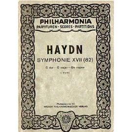 """Symphonie XVII (82) en Do majeur """"L'ours"""""""