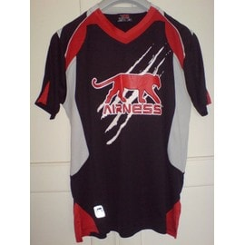 T-Shirt Airness Noir - Taille M - 100% Polyester -