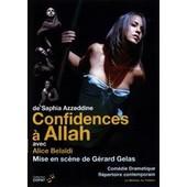 Confidences � Allah de Saphia Azzeddine