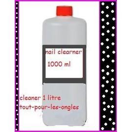 Cleaner D�graissant Pour Gel Uv 1 Litre