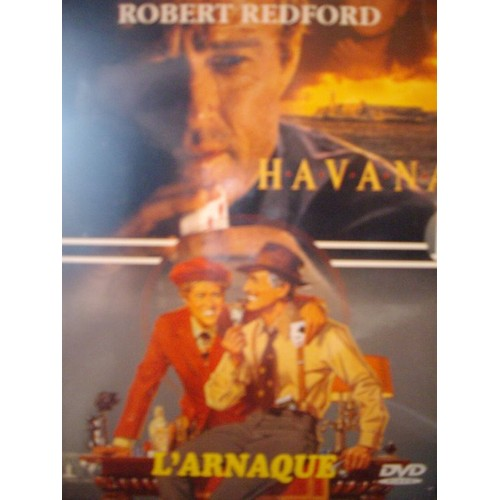 Coffret Robert Redford 2 DVD : Havana / L'Arnaque