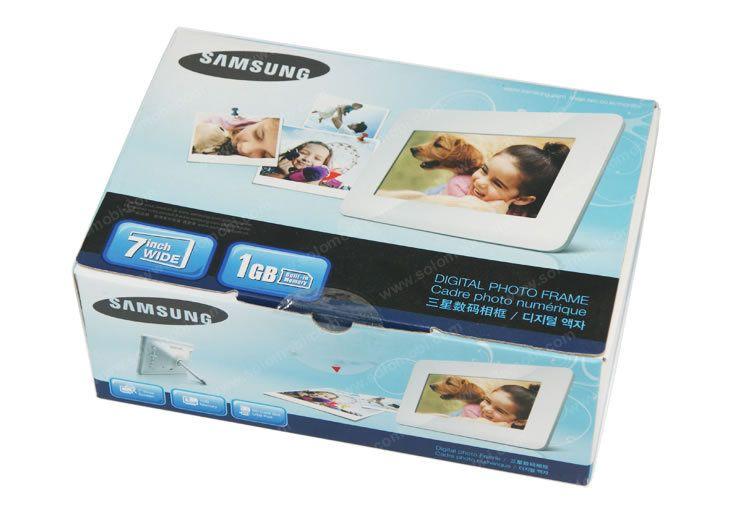 """Samsung SPF-71ES - Cadre Photo Numérique - Ecran 7"""" (17,78 cm)"""